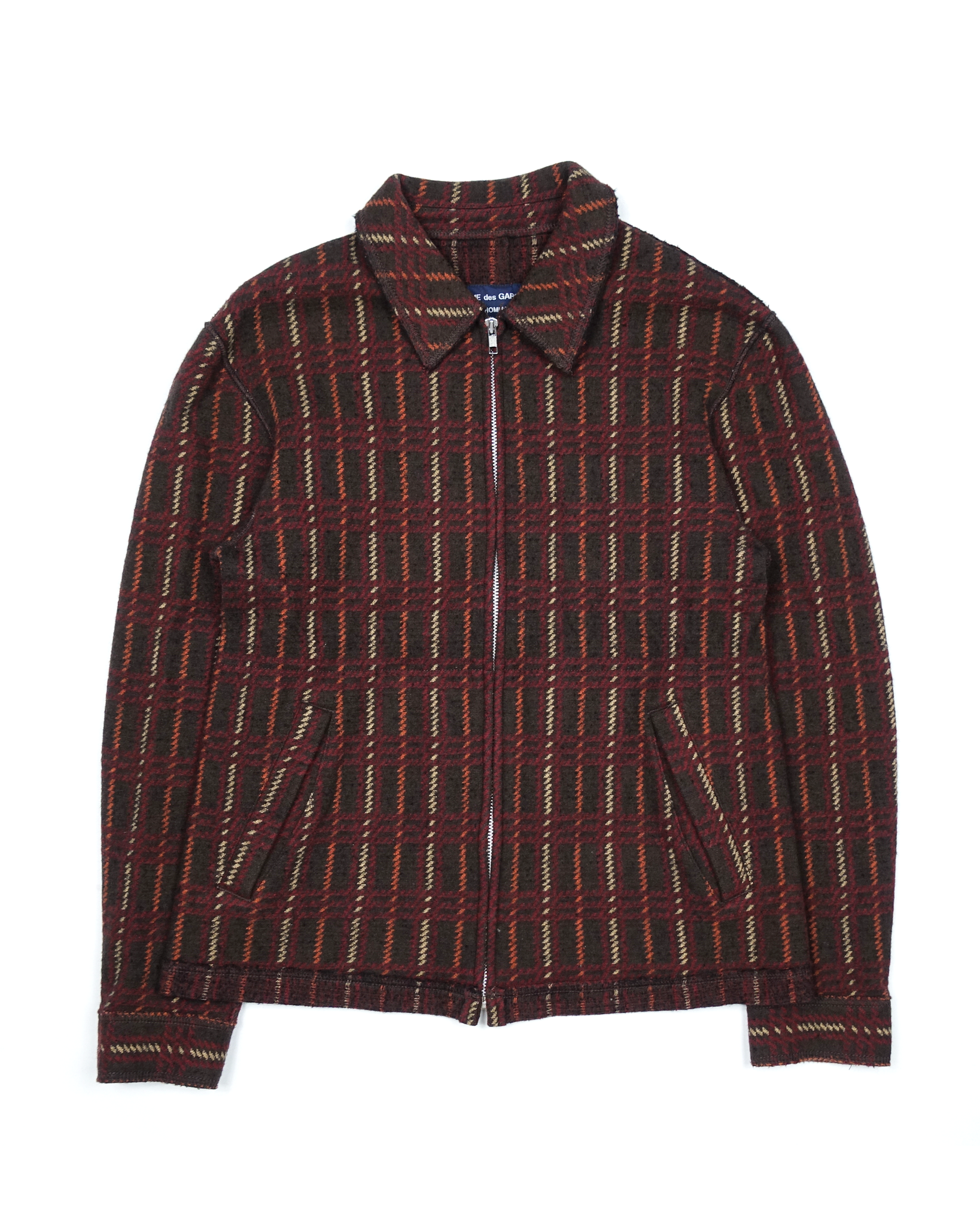 Comme des Garçons Homme Triple Weave Wool Work Jacket AW2004