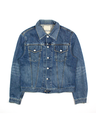 Helmut Lang Faded Mid-Wash Classic Type III Trucker Jacket SS1998