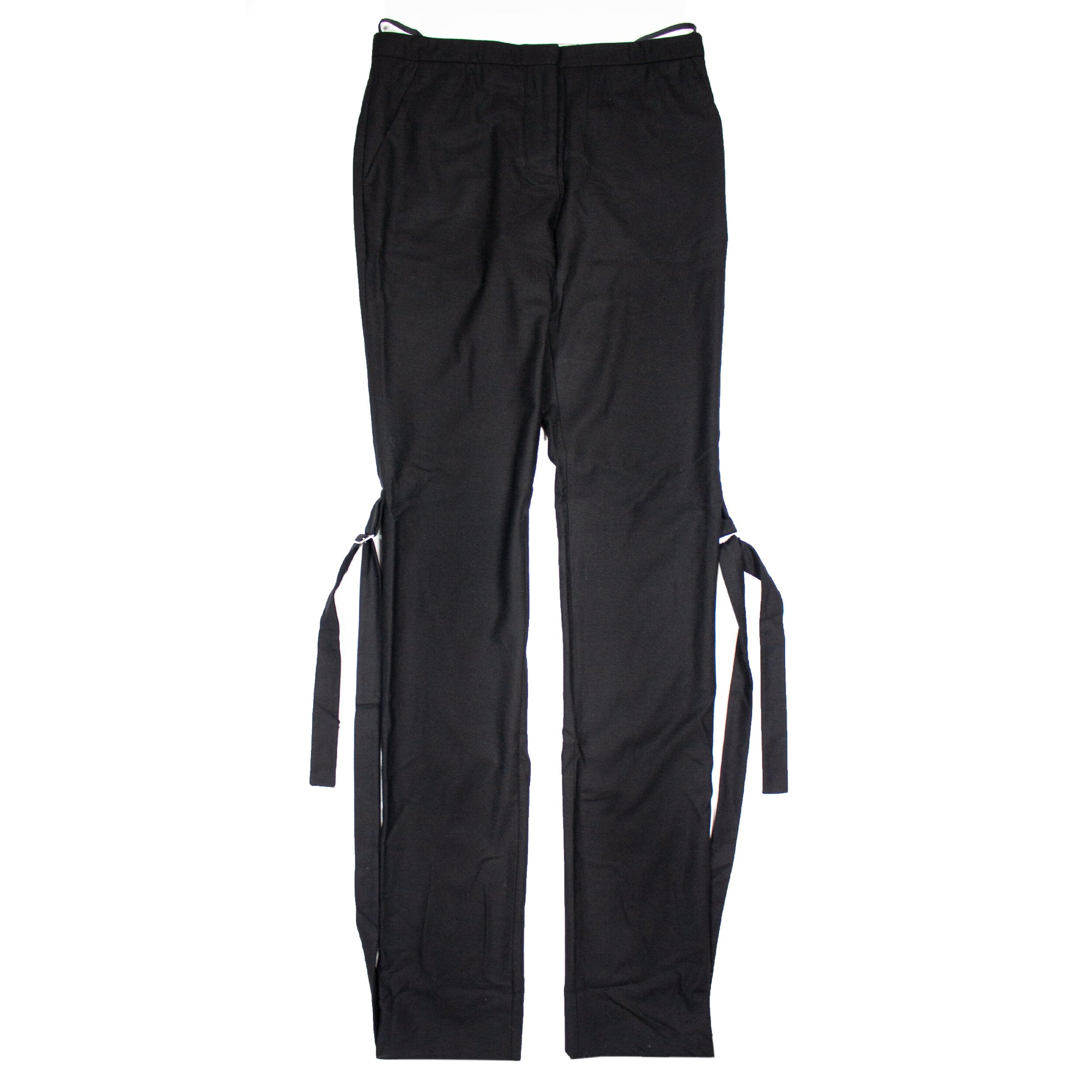 HELMUT LANG 'H RING' BONDAGE TROUSERS – AW2003