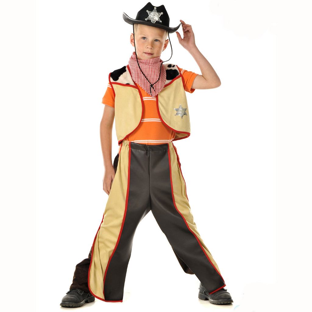 Boys Cowboy Costume- Children's Costume -Tretend to Bee