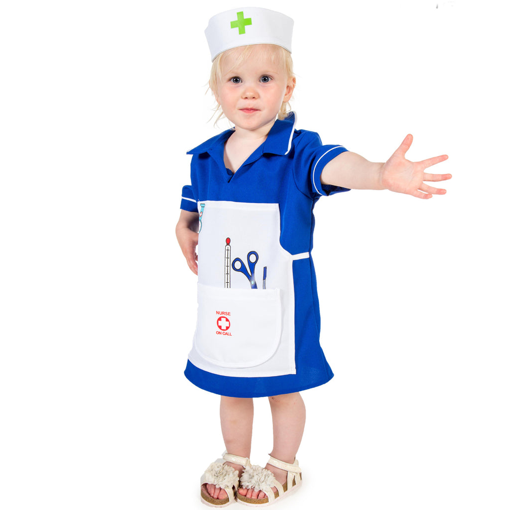 Children's Nurse Fancy Dress Costume-Pretend to Bee