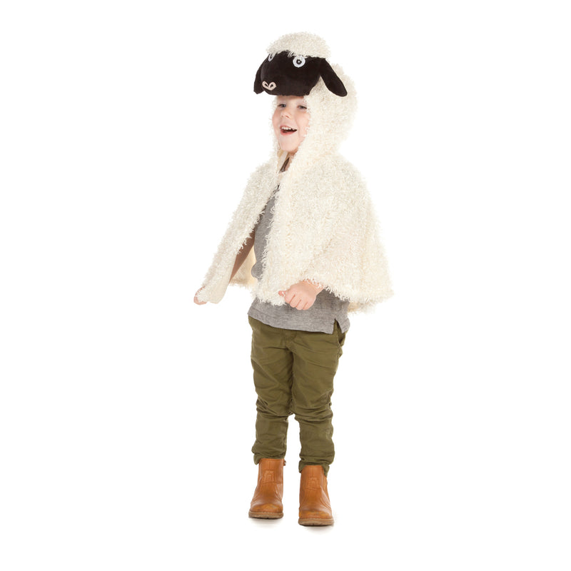Children's Sheep Dress Up Cape
