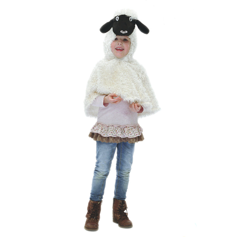 Children's Sheep Dress Up Cape, Children's Costume - Pretend to Bee