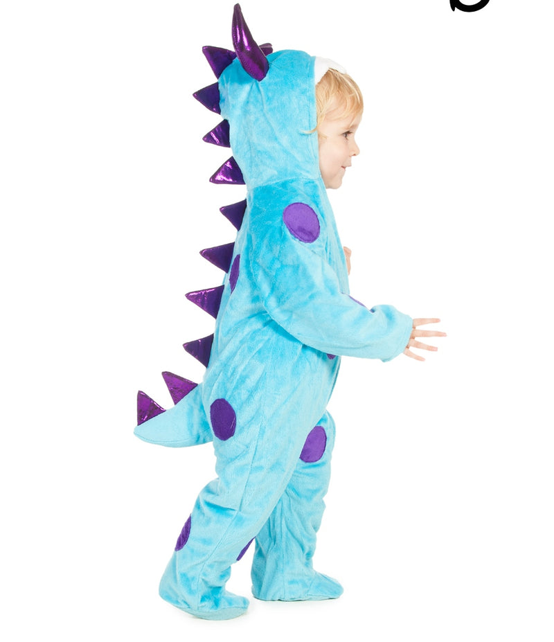 Baby Monster Costume - Baby Costume - Blue Monster- Time to Dress Up