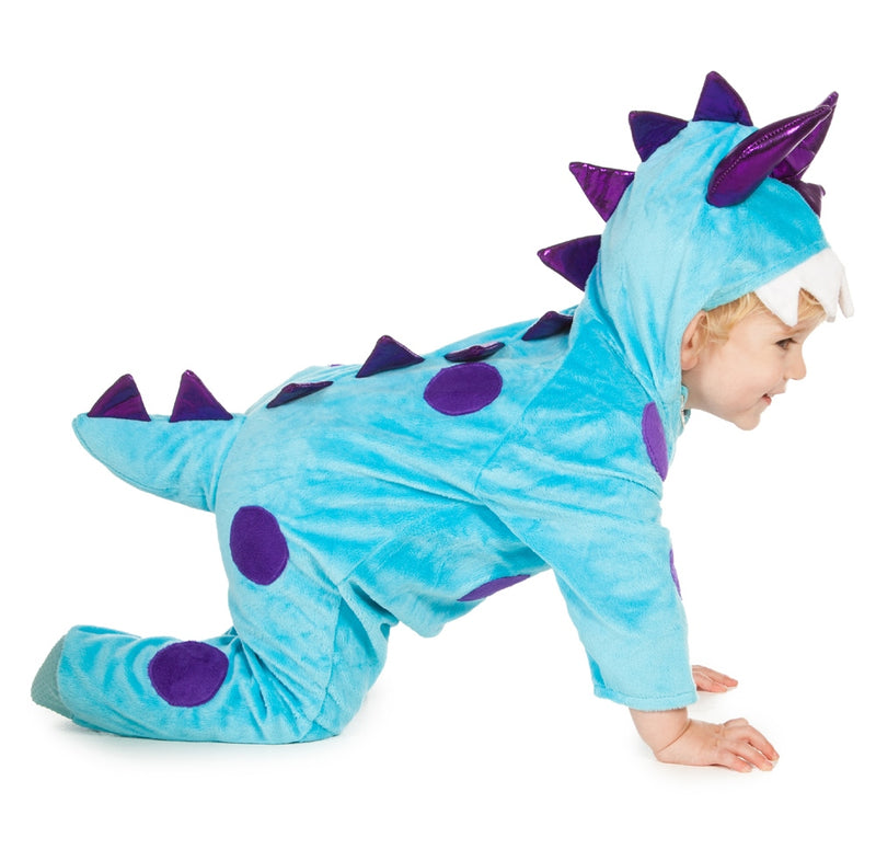 Baby Monster Costume - Baby Costume - Blue Monster- Time to Dress Up -4