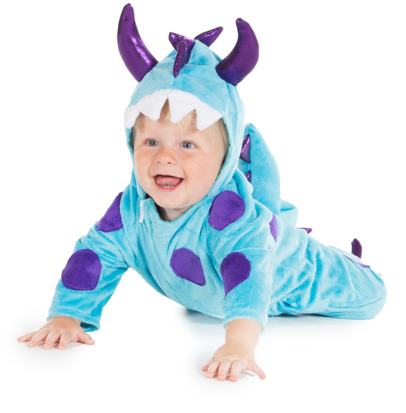 Big Blue Monster- Baby Fancy Dress - Time to Dress up