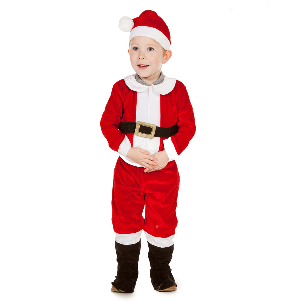 Kids Santa Costume - Children's Costume -Time to Dress Up
