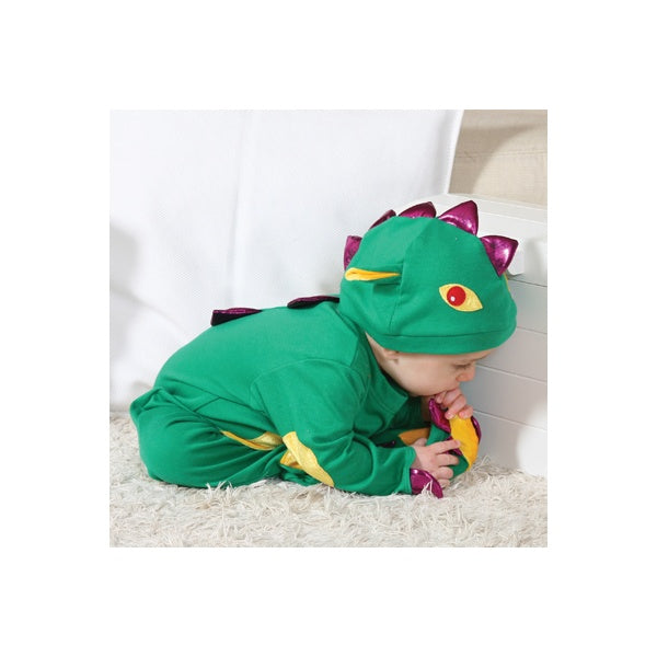 Baby Green Dragon Costume-Travis Dress up by Design 2