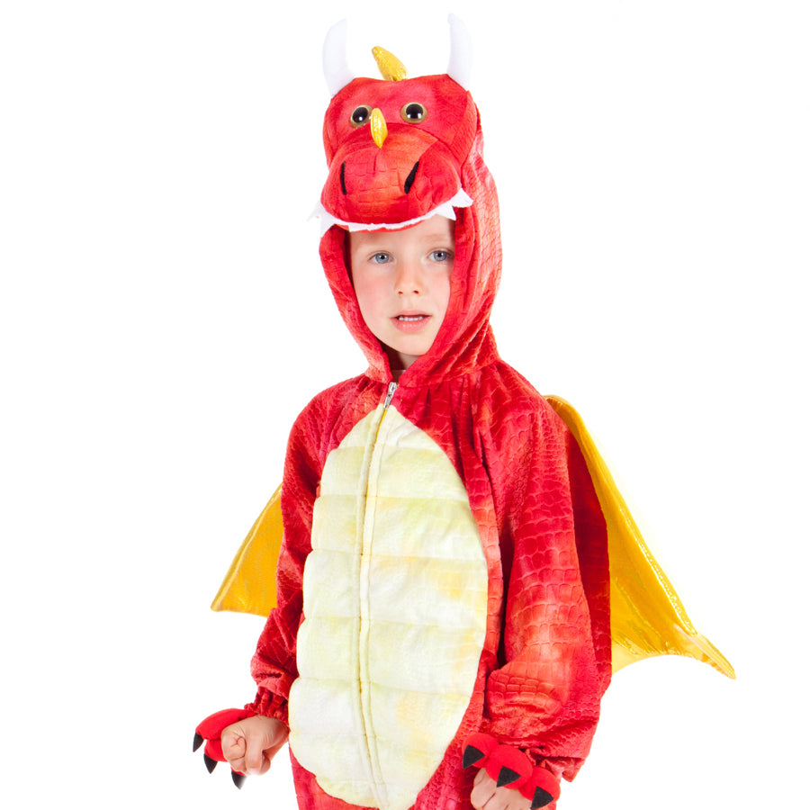 Children's Red Dragon  Costume , Dragon Costume, Children's Costume - Pretend to Bee, Ayshea Elliott - 2