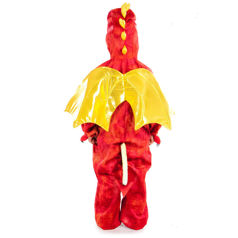 Children's Red Dragon Costume-Children's Costume-Pretend to Bee