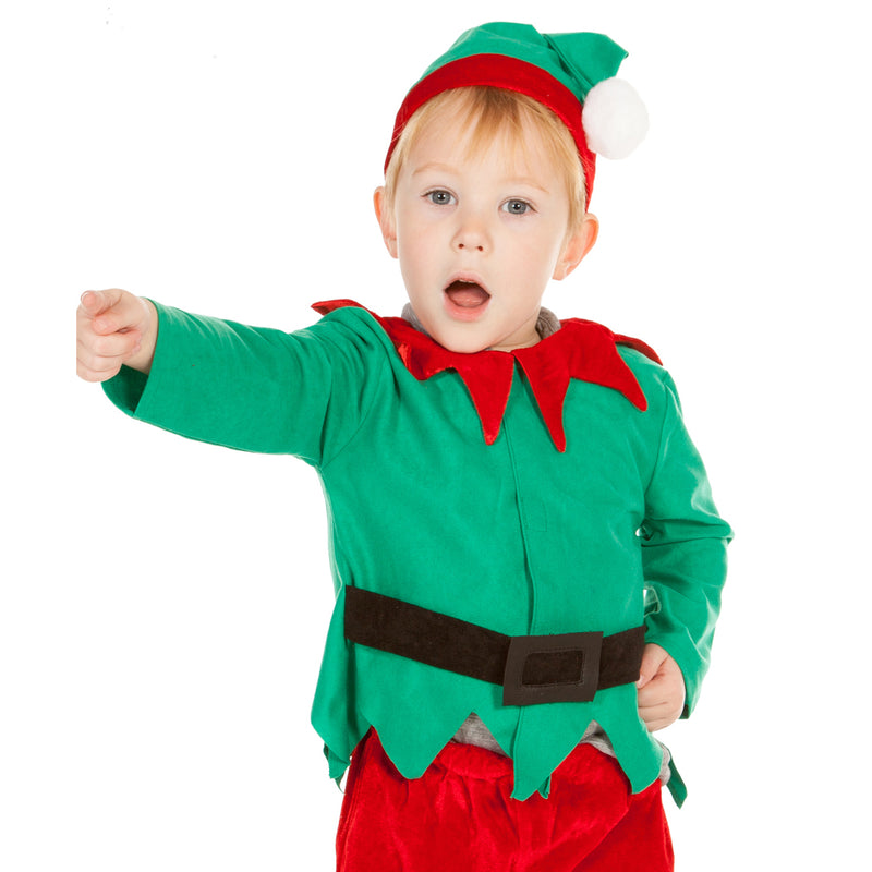 Children's Little Elf Dress Up Costume , Kids Elf Costume. Children's Costume - Pretend to Bee, Ayshea Elliott - 4