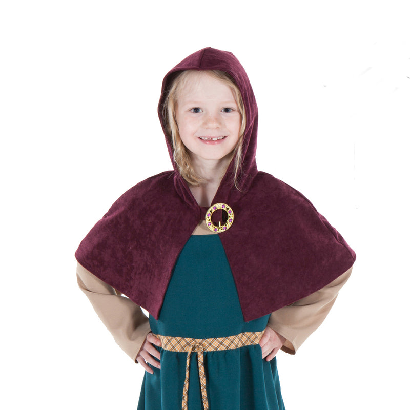 Children's Viking Woman Costume , Children's Costume - Pretend to Bee