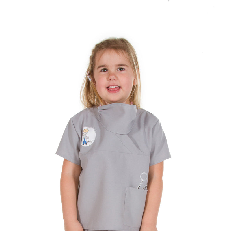 Children's Dentist Dress Up Costume- Children's Fancy Dress- Pretend to Bee