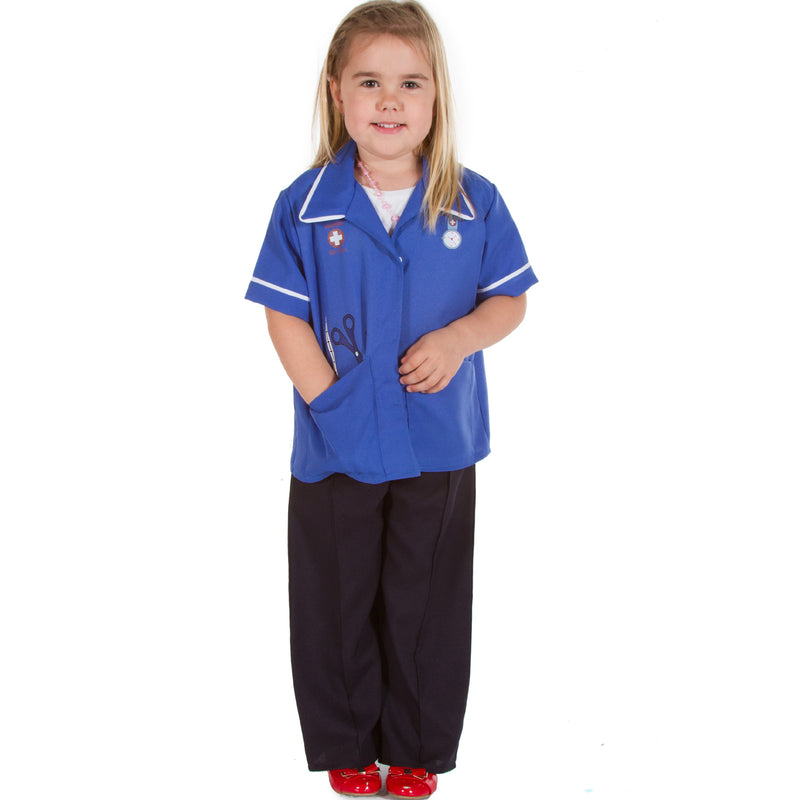 Children's Modern Nurse Costume- Kids Nurse Costume - Pretend to Bee