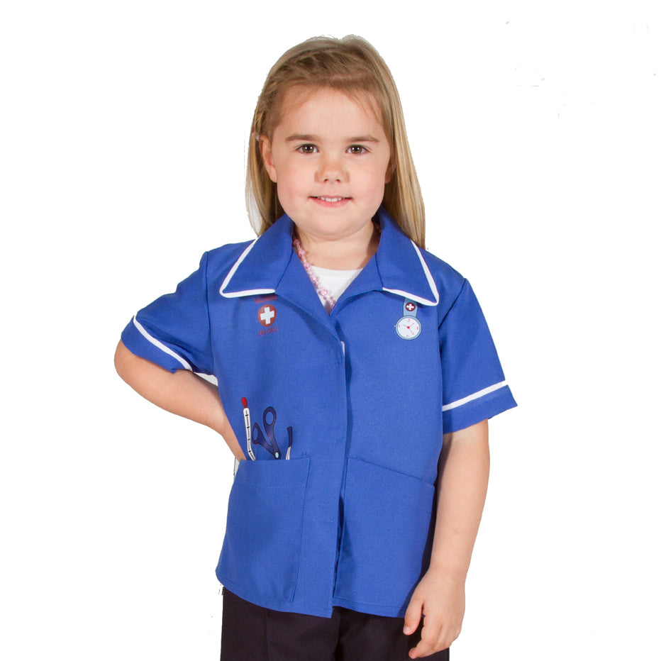 Children's Modern Nurse Costume- Kids Nurse Costume - Pretend to Bee -1
