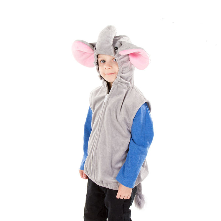 Children's Elephant Zip Top- Elephant Costume - Children's Fancy Dress- Pretend to Bee 3