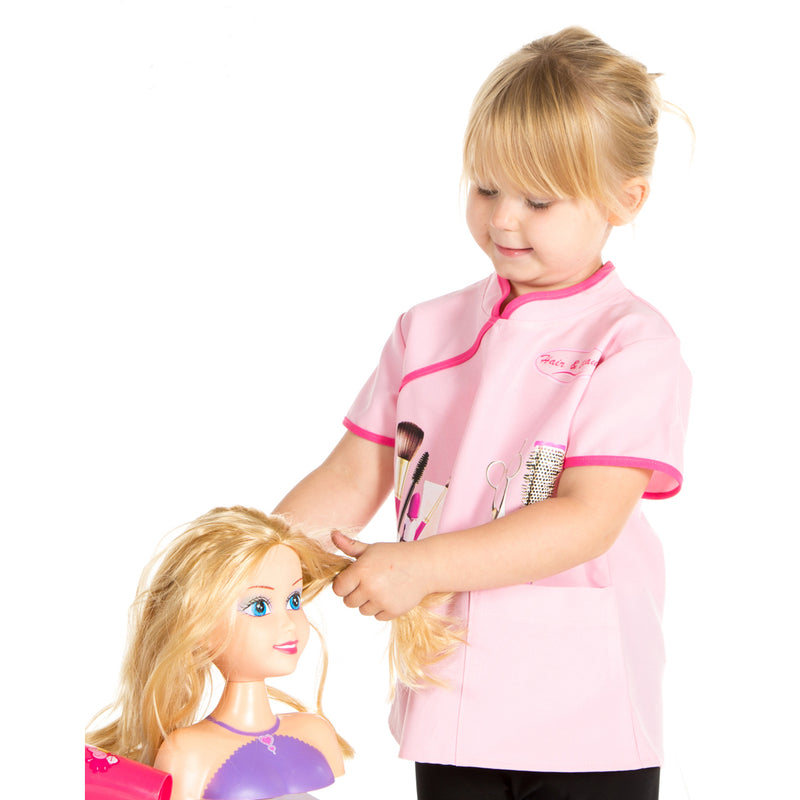 Children's Beautician Fancy Dress Costume- Kids Role Play- Pretend to Bee 1- Time to Dress Up
