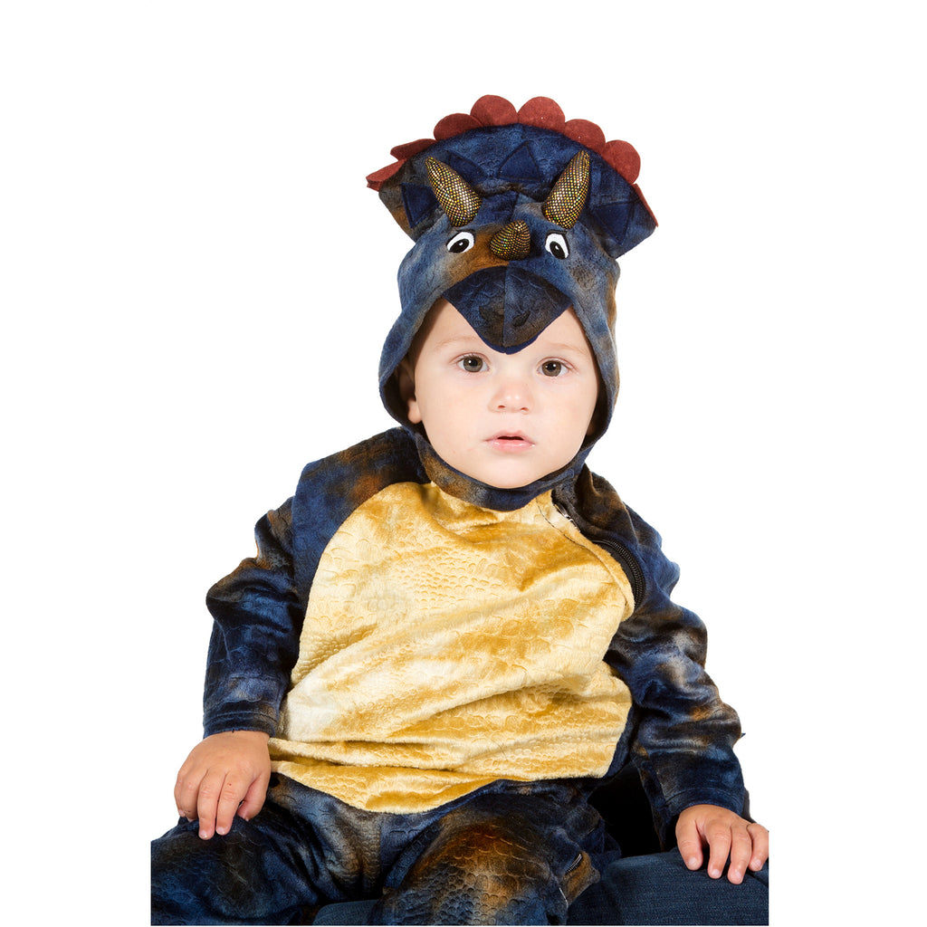 Official Natural History Museum Baby Triceratops Costume ,Baby and Toddler Costume
