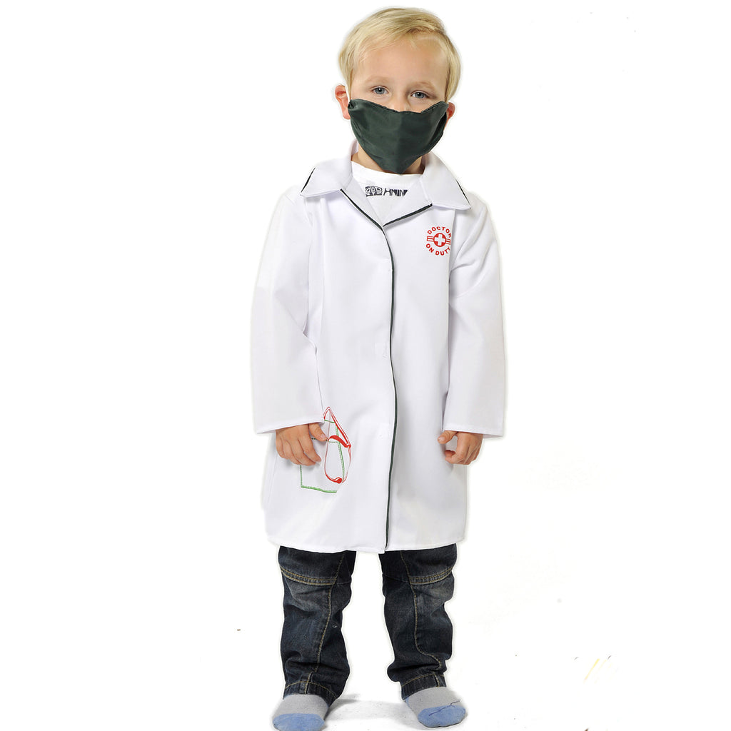 Children's Doctor Costume- Children's Fancy Dress- Pretend to Bee