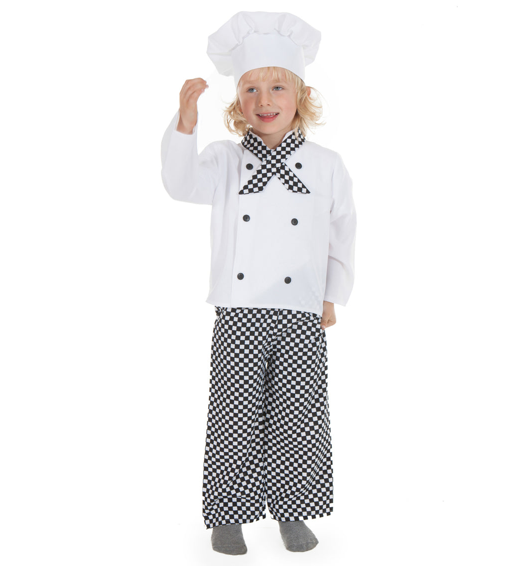 Chef Dress Up Costume- Kid's Fancy Dress- Time to Dress Up