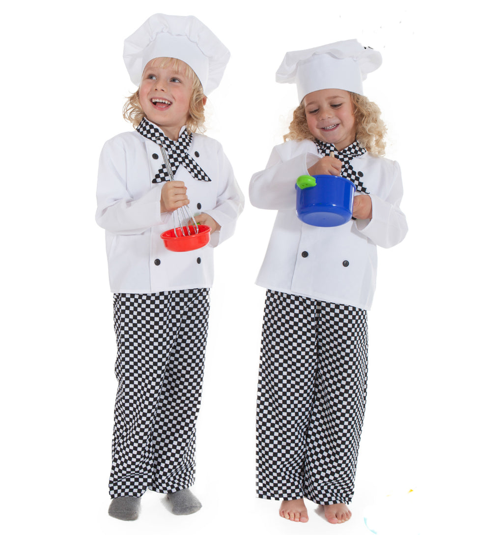 Kids Chef Costume- Kid's Fancy Dress- Time to Dress Up