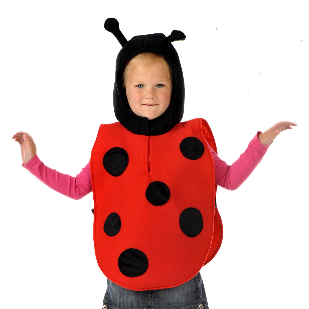 Children's Ladybird Fancy Dress Costume- Time to Dress Up
