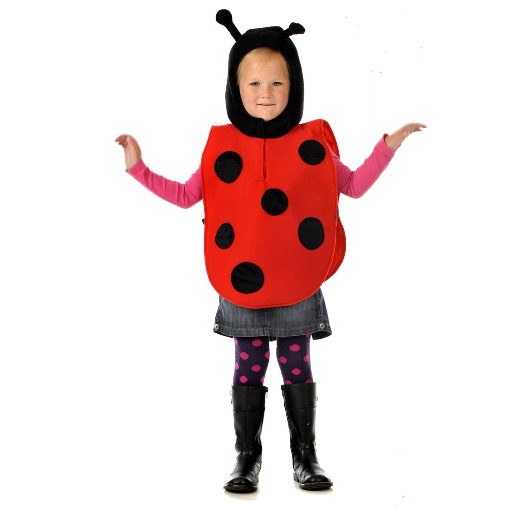 Children's Ladybird Costume- Children's Fancy Dress - Pretend to Bee