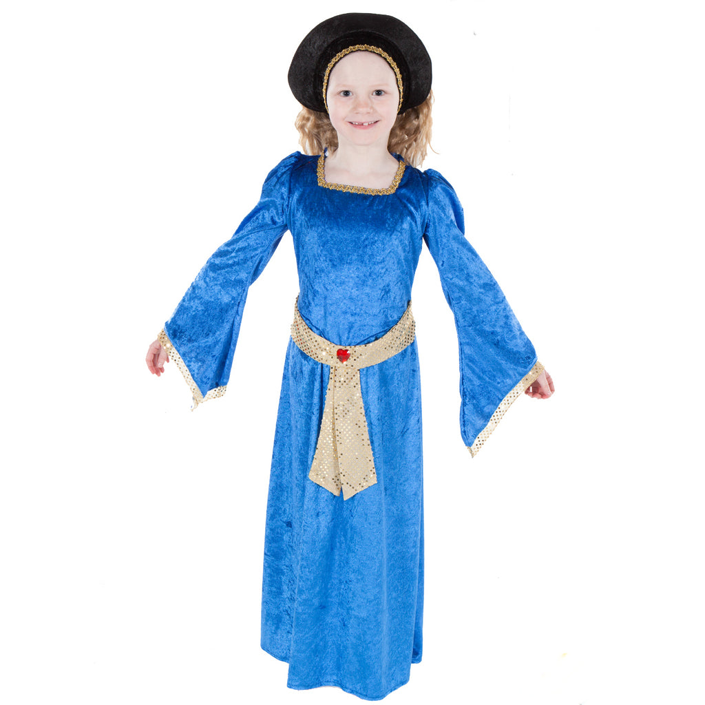 Children's Tudor Woman Costume , Children's Costume - Pretend to Bee