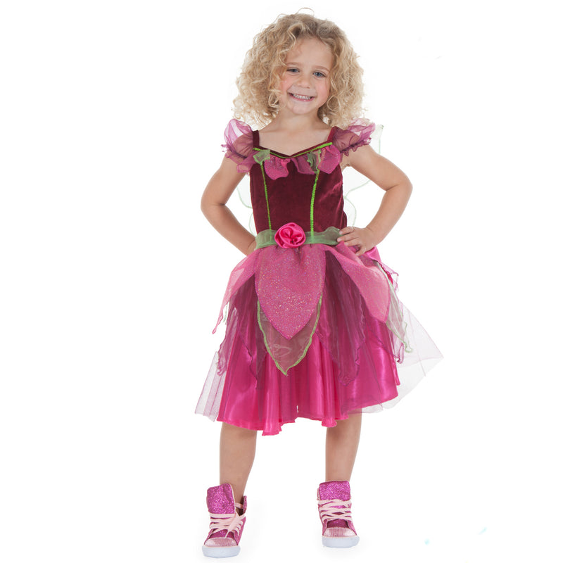 Children's Summer Fairy Dress With Wand