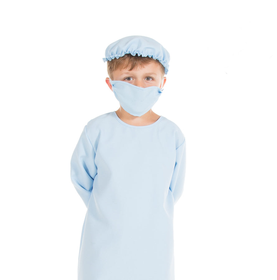 Children's Surgeon Costume, Doctor Costume, Children's Costume-Pretend to Bee