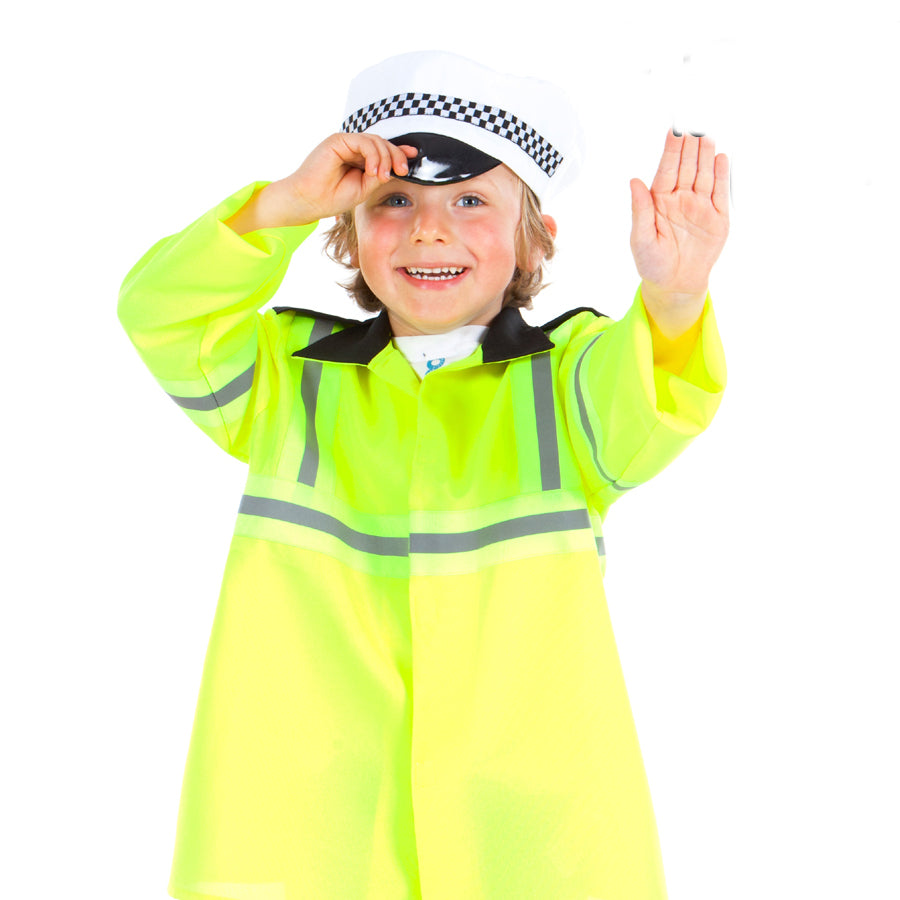 Children's Traffic Officer Costume, Children's Costume-Pretend to Bee
