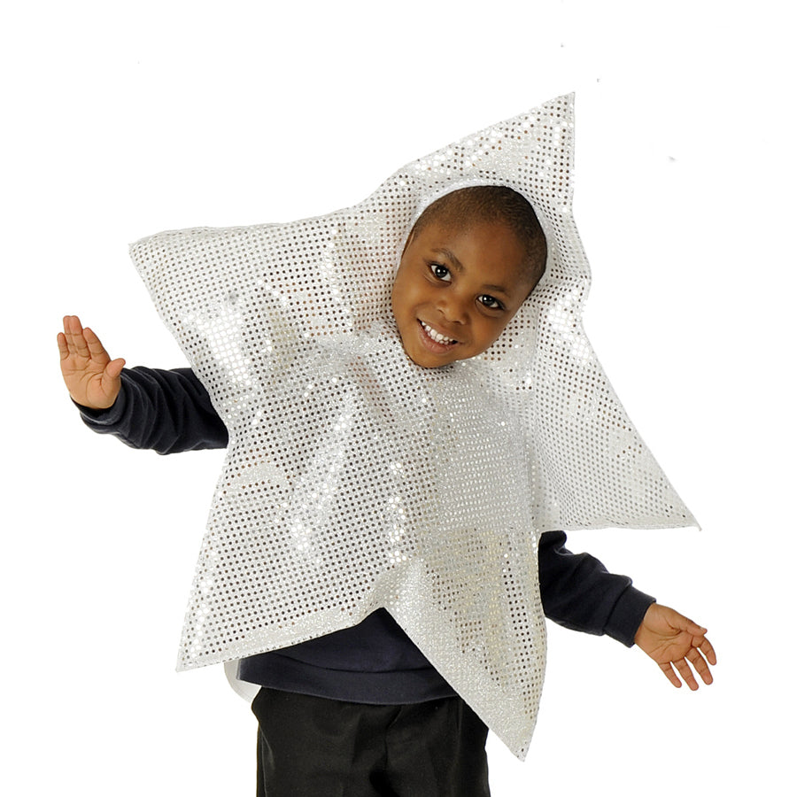 Children's Silver Star Nativity Costume, Star Costume, Children's Costume - Pretend to Bee