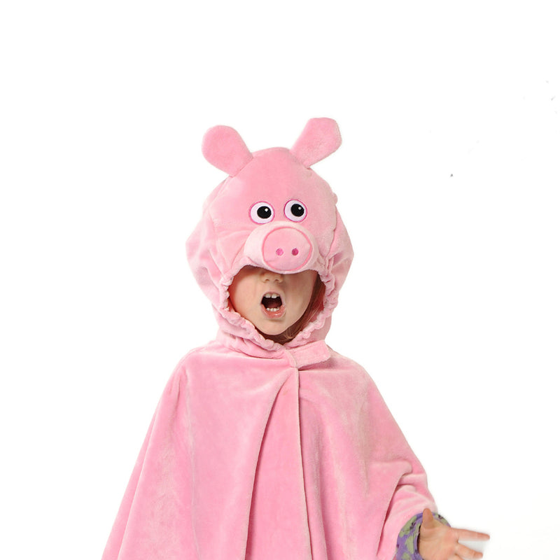 Children's Pig Fancy Dress Cape- Children's Costumes- Pretend to Bee