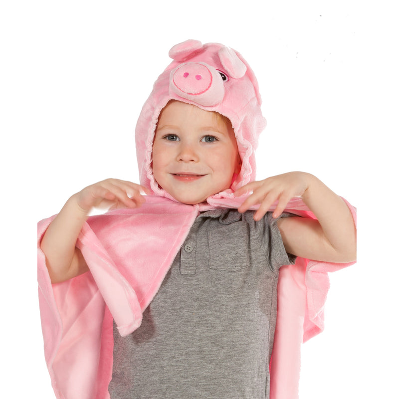 Children's Pig Fancy Dress Cape- Pig Costume -Children's Costumes- Pretend to Bee -2