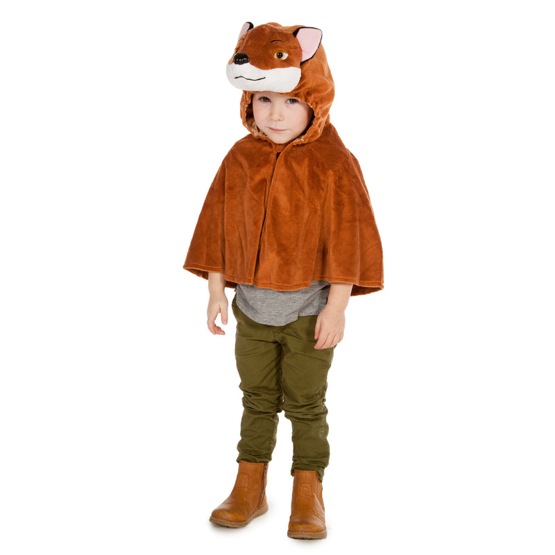 Children's Fox Fancy Dress Cape-Fox Costume - Children's Costume-Pretend to Bee 1