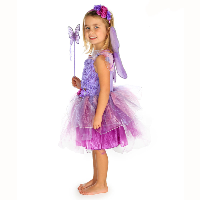 Amethyst Fairy Dress Up Costume-Fairy set