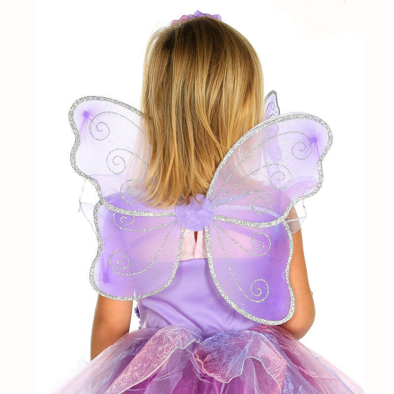 Amethyst Fairy Dress Up Costume -Wings