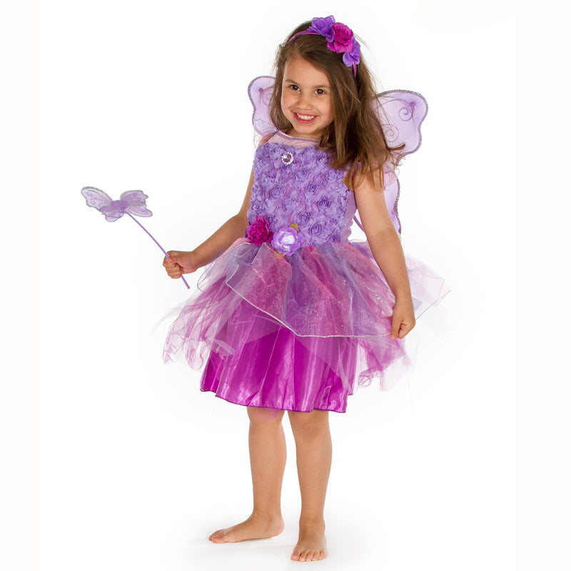 Amethyst Fairy Dress Up Costume