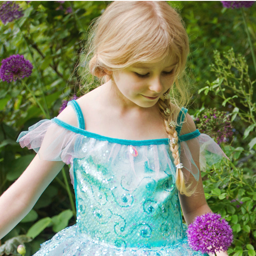 Children's Aqua Fairy Dress Up , Children's Costume
