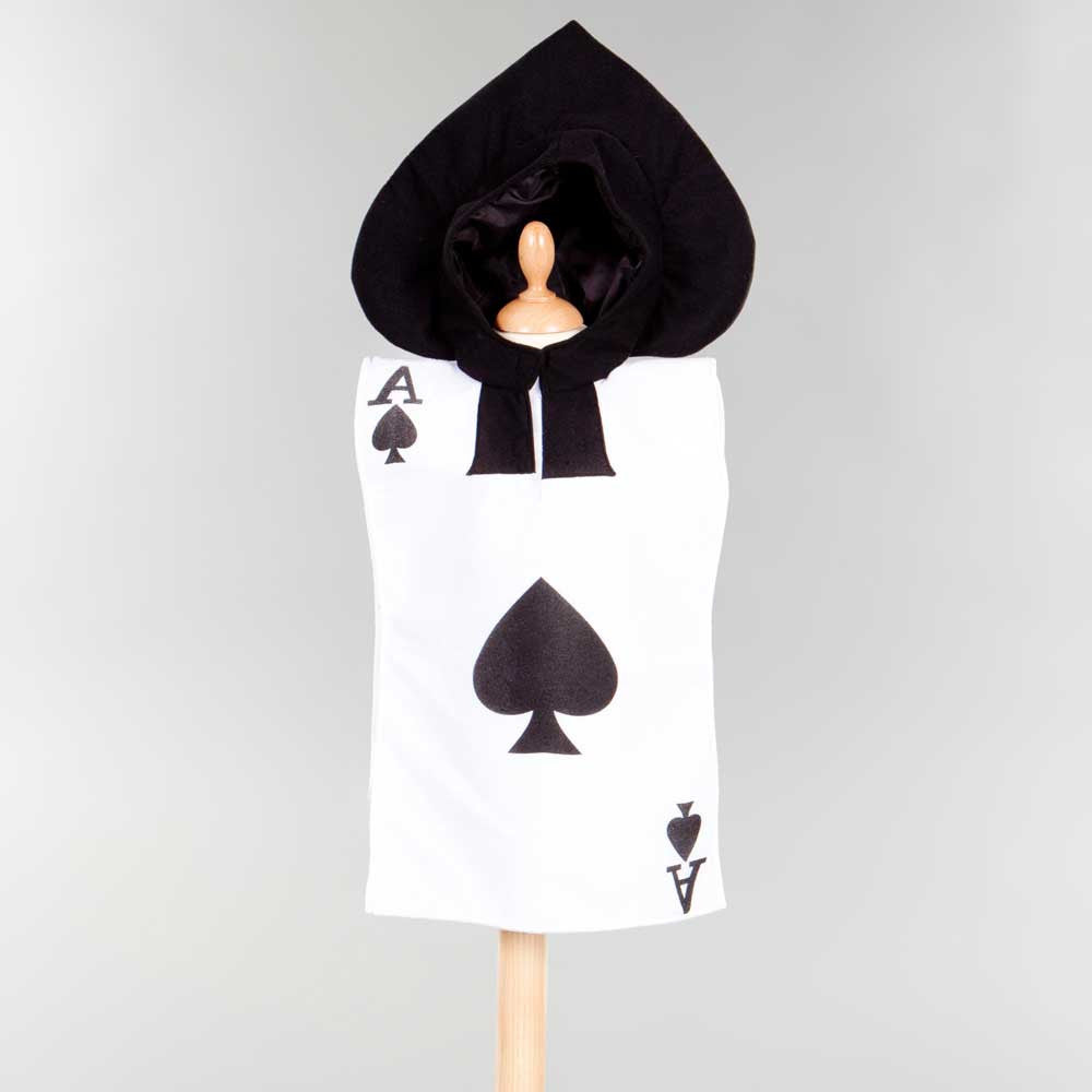 Children's Ace of Spades Kids Fancy Dress Costume , Children's Costume - Pretend to Bee, Ayshea Elliott - 1
