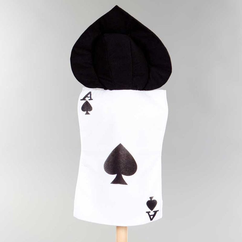 Children's Ace of Spades Kids Fancy Dress Costume , Children's Costume - Pretend to Bee, Ayshea Elliott - 2