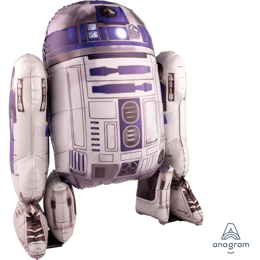 Star Wars R2-D2 Airwalker Foil Balloon