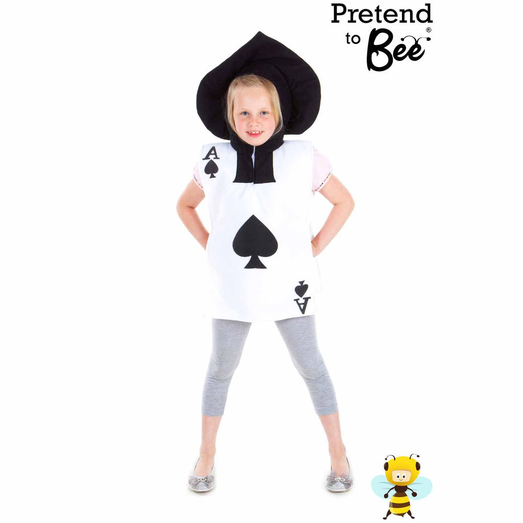 Children's Ace of Spades Kids Fancy Dress Costume , Children's Costume - Pretend to Bee, Ayshea Elliott - 3