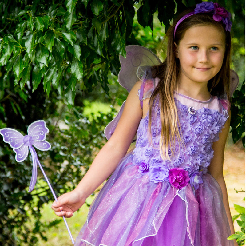 Amethyst Fairy Dress Up Costume-lifestyle