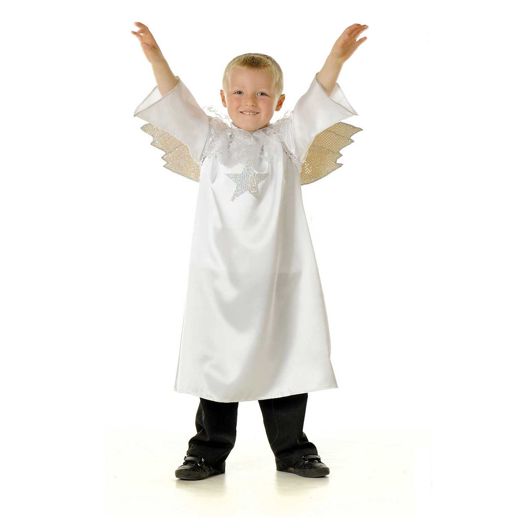 Children's Angel Nativity Dress Up Costume , Children's Costume - Pretend to Bee, Ayshea Elliott - 1