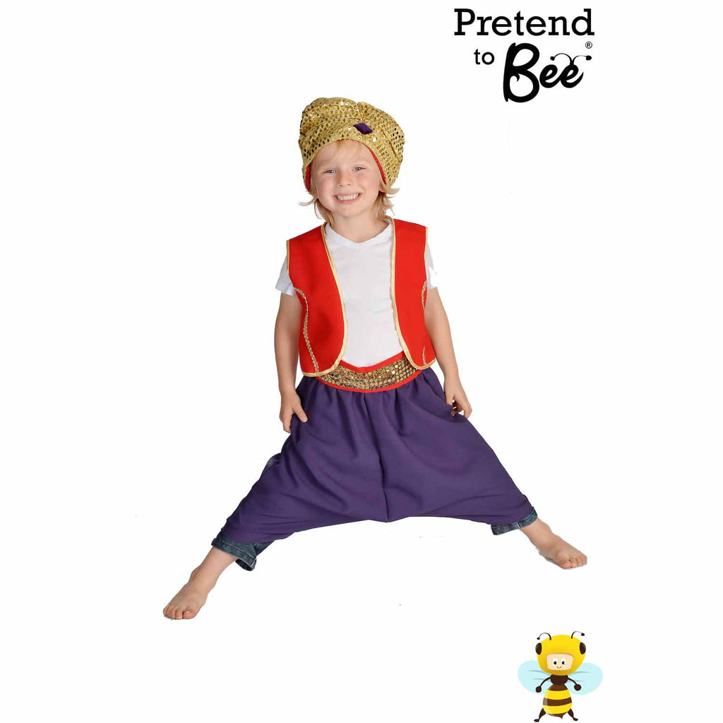 Children's Arabian Prince Dress Up , Children's Costume - Pretend to Bee, Ayshea Elliott