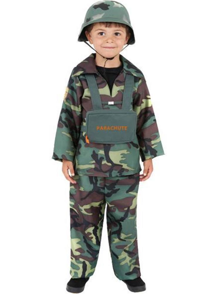 Army Boy Soldier Camouflage Hat