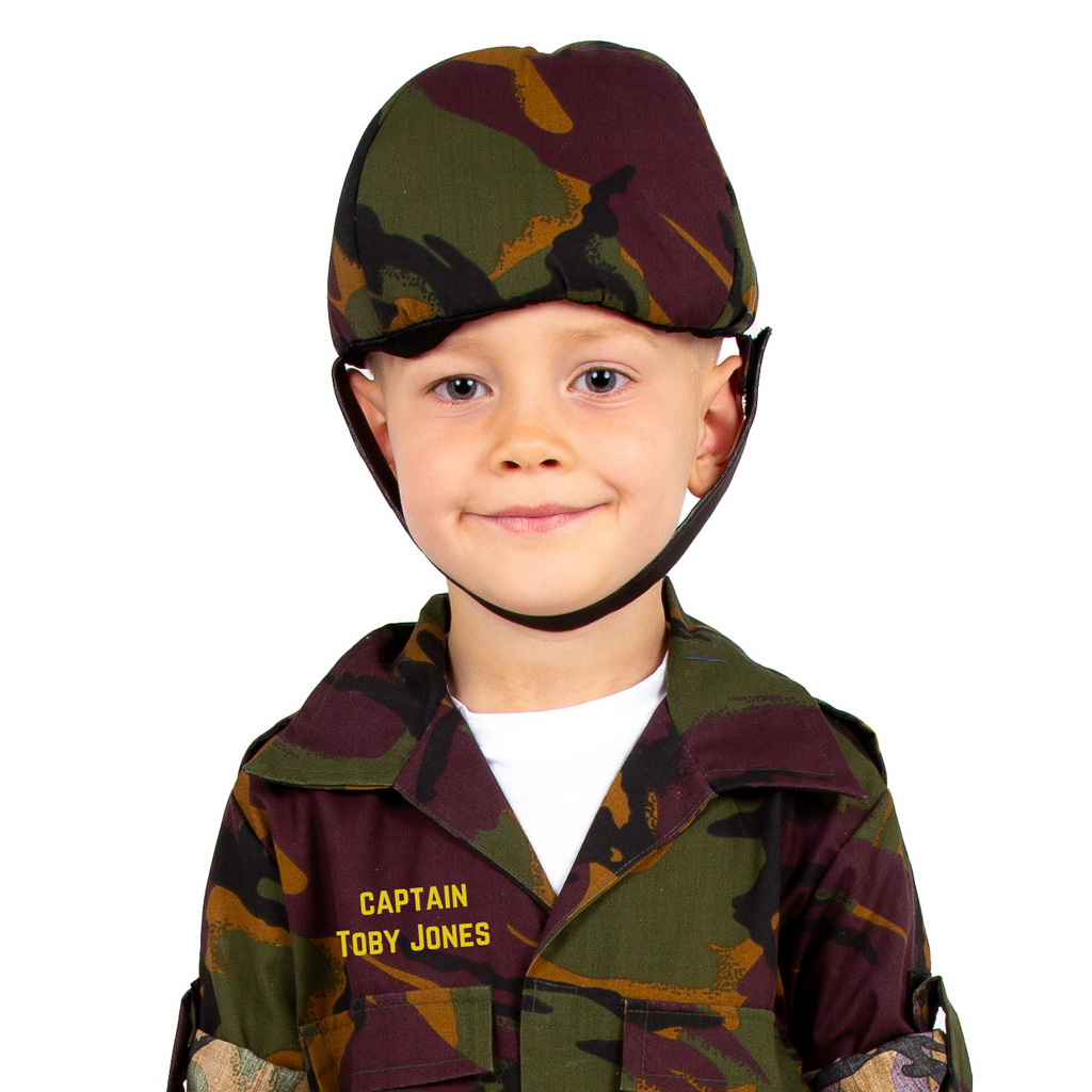 Personalised Army Camouflage Soldier Costume