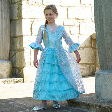Azure Mist Frosted Sparkle Dress , Children's Costume - Travis Designs, Ayshea Elliott - 2