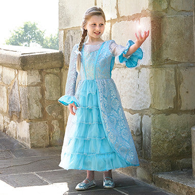 Azure Mist Frosted Sparkle Dress , Children's Costume - Travis Designs, Ayshea Elliott - 1